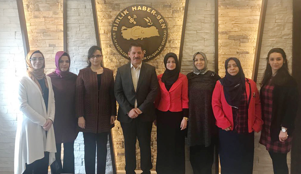 Sağlık-Sen Kadın Komisyonu' ndan Sendikamıza Ziyaret