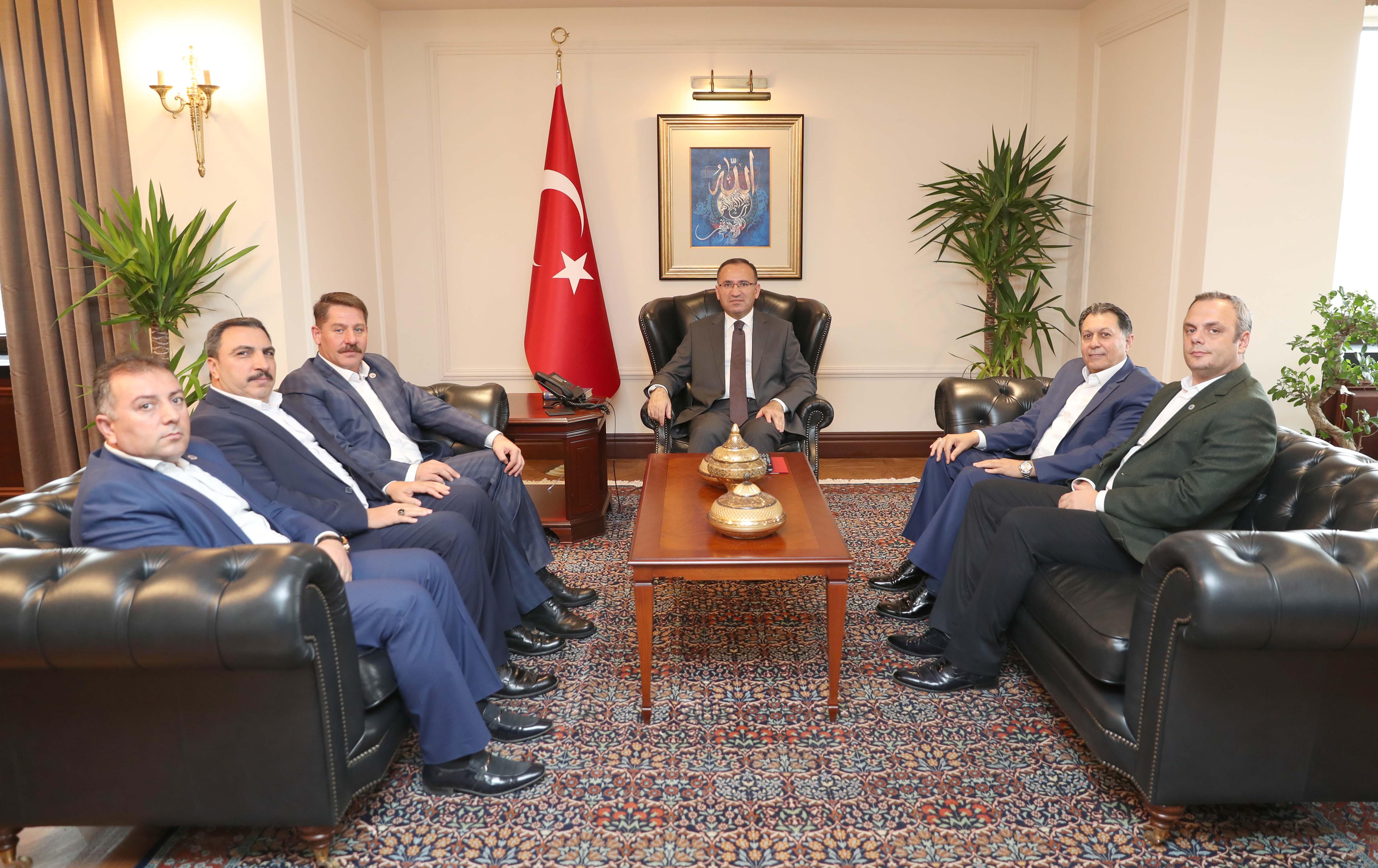 Sendikamızdan Başbakan Yardımcısı Bozdağ'a Hayırlı Olsun Ziyareti