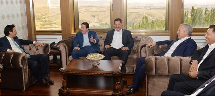 TRT Genel Müdürlüğü'ne Atanan Eren'e Ziyaret