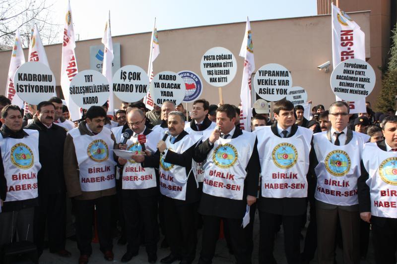 PTT DE 30.000 TRT DE 7.500 İMZA KAMPANYASI BAŞLATIYORUZ