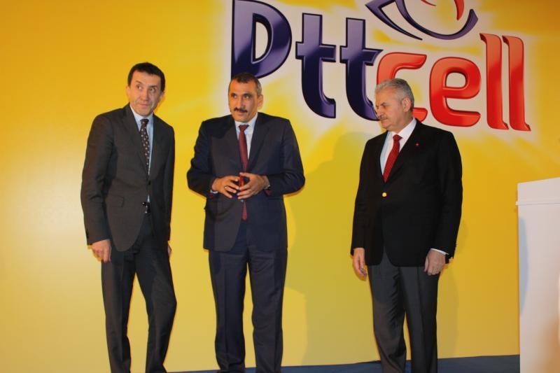 PTT, PTTCELL İLE MOBİL İLETİŞİM SEKTÖRÜNE GİRDİ