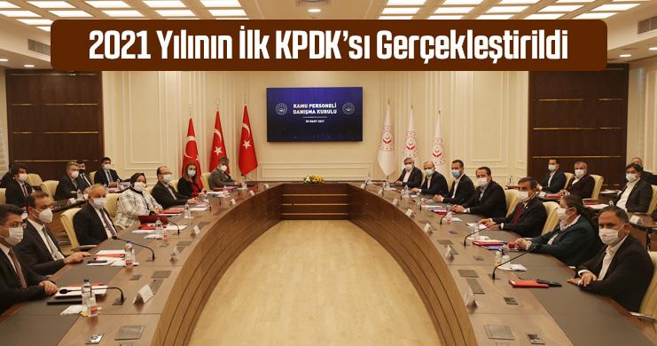 2021 Yılının İlk KPDK'sı Gerçekleştirildi