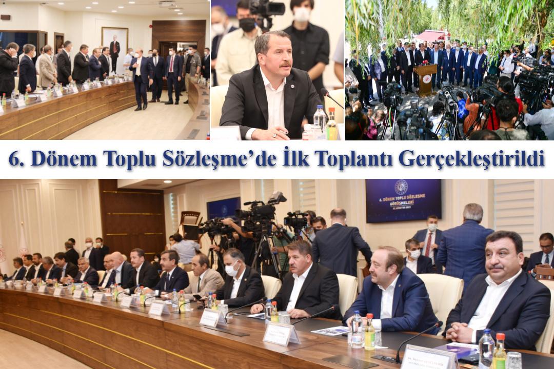 6. Dönem Toplu Sözleşme'de İlk Toplantı Gerçekleştirildi