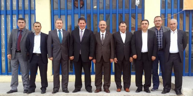 Birlik Haber-Sen'den, Eski Genel Başkan Gülcüoğlu'na Destek Ziyareti