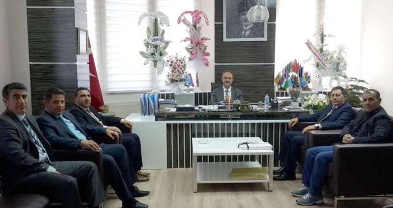 Eski Genel Başkan Gülcüoğlu'na Hayırlı Olsun Ziyareti