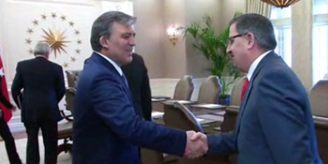 Gül, Türkiye-AB Karma İstişare Komitesi Heyetini Kabul Etti