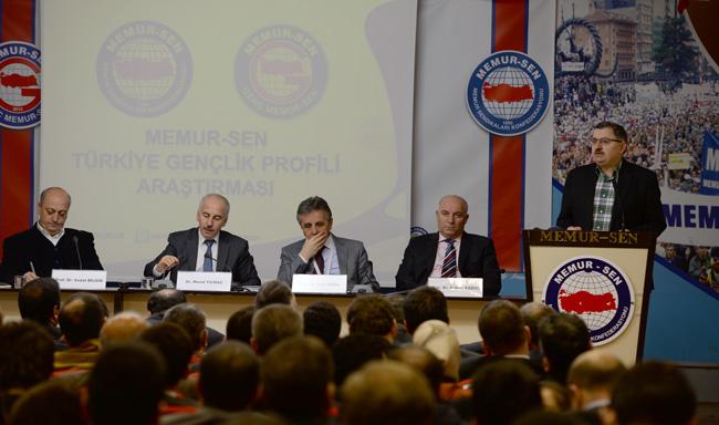 Memur-Sen'in Türkiye Gençlik Profili Araştırması Yayınlandı