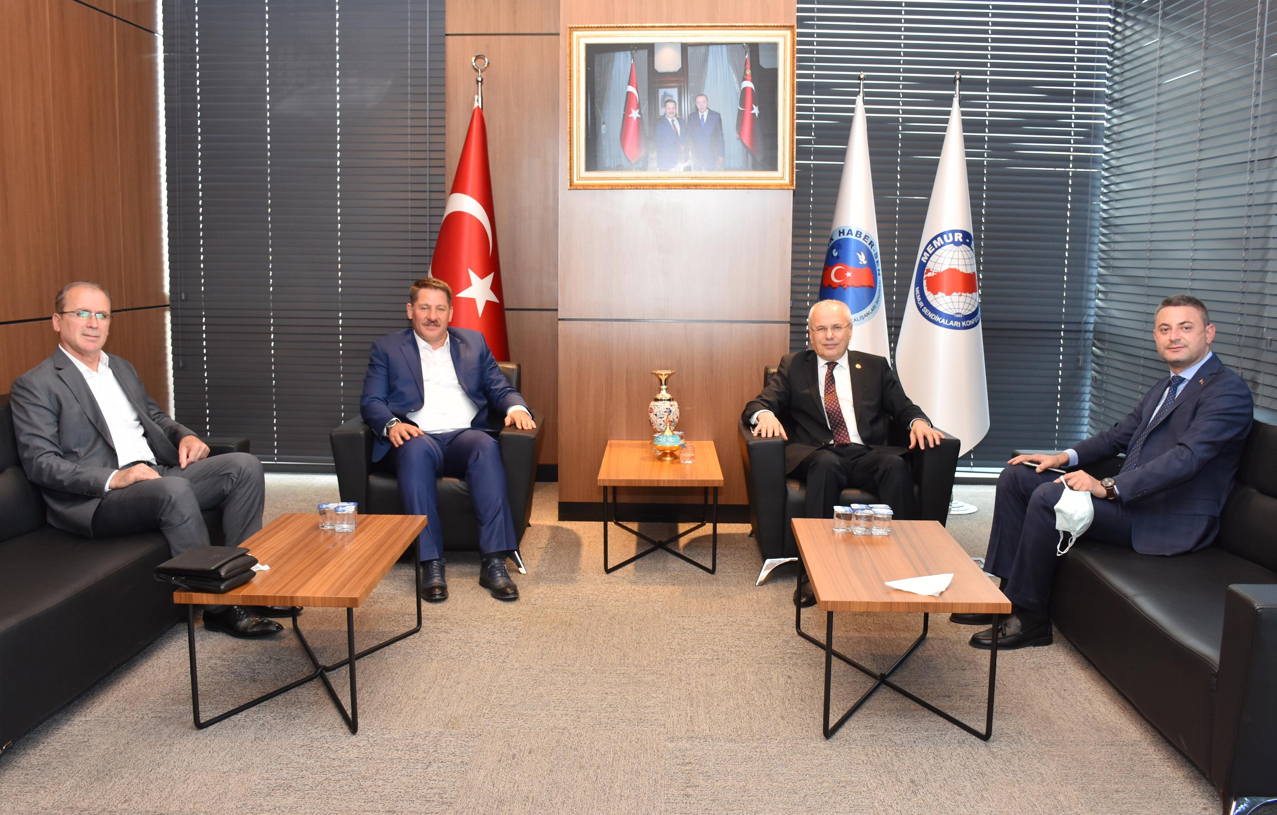 AK Parti Dış İlişkiler Başkan Yardımcısı Ceylan'dan Birlik Haber-Sen'e Ziyaret