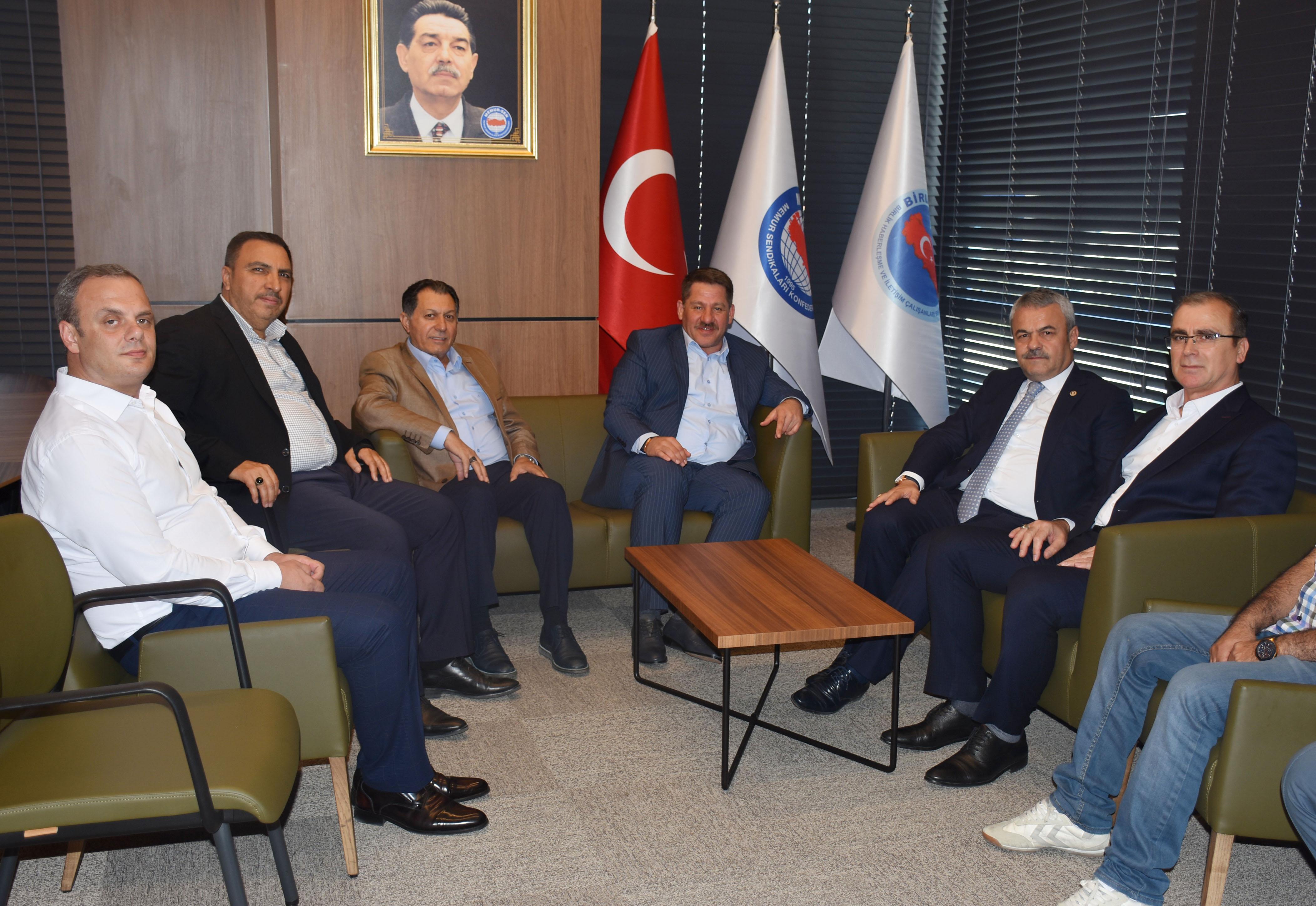 Ak Parti Karabük Milletvekili Ünal'dan Birlik Haber-Sen' Ziyaret
