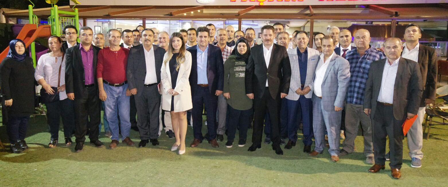Başkanlarımız Adana Şube Temsilcilerimizle Biraraya Geldiler