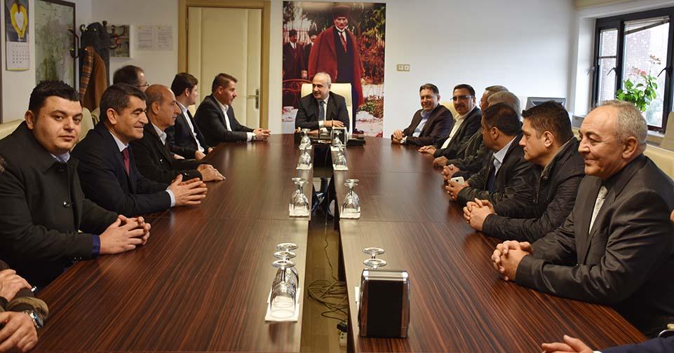 Başkanlarımız Ankara Başmüdürlüğünü Ziyaret Ettiler