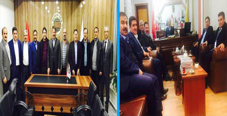 Başkanlarımız Erzincan Teşkilatımızı Ziyaret Etti