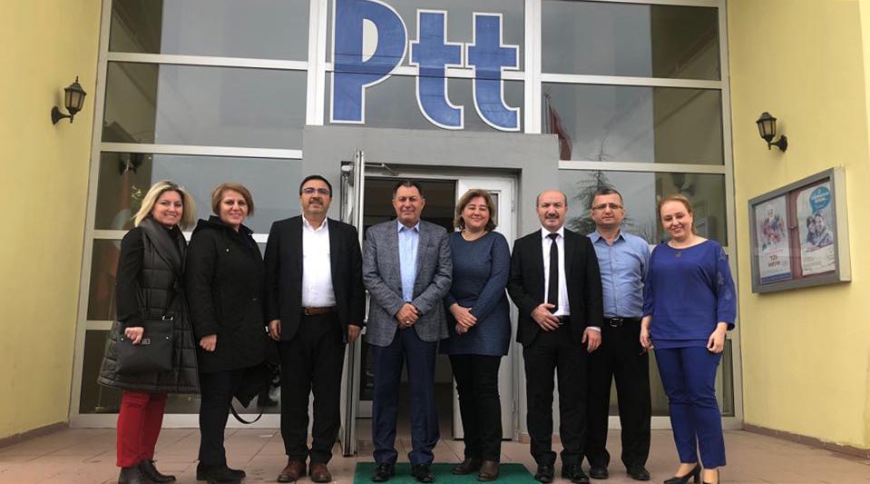 Başkanlarımız İnaltekin ve Burgaç'tan, Marmara Bölgesi'ne Ziyaret