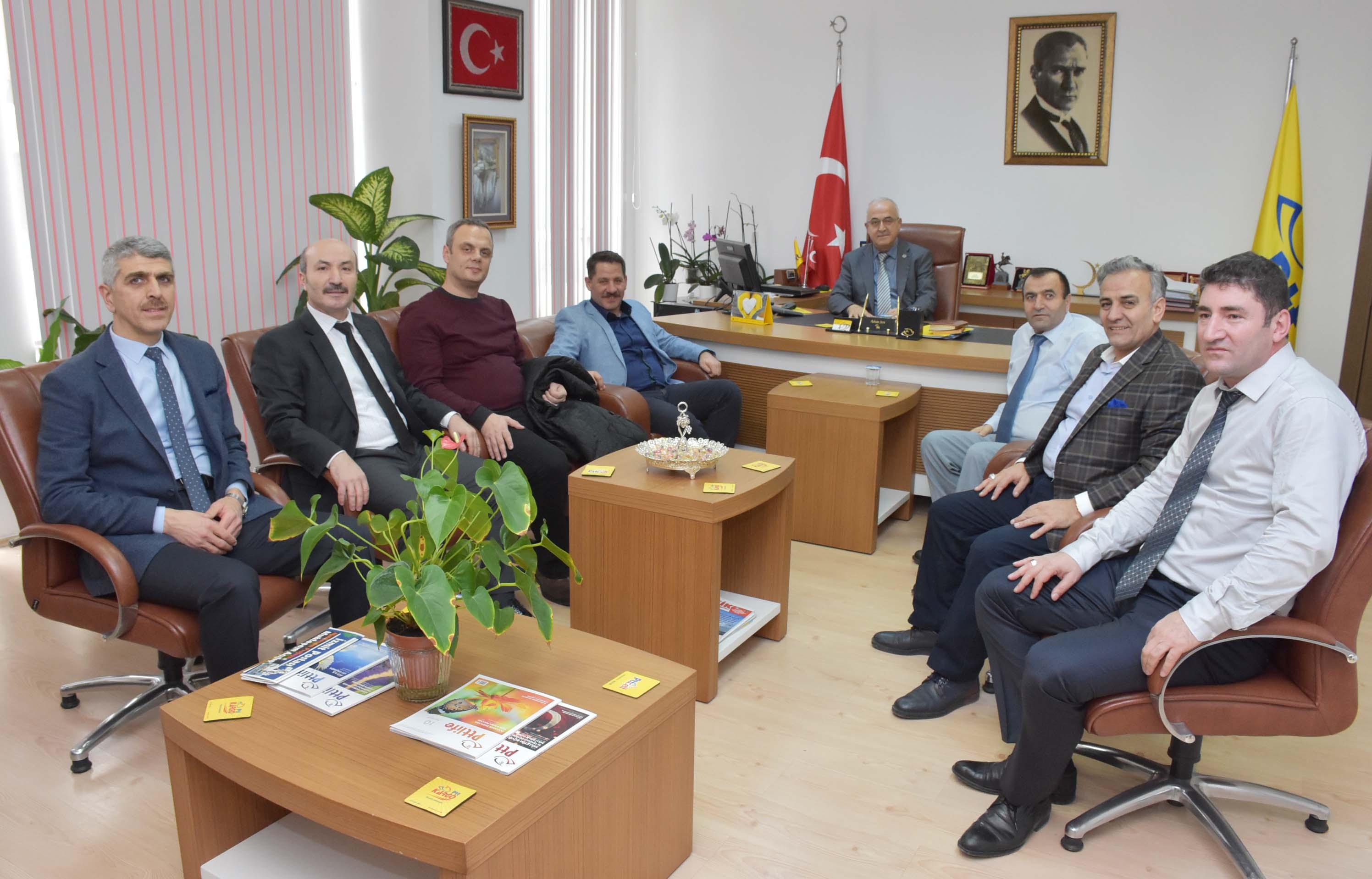 Başkanlarımız Kocaeli Teşkilatımızı Ziyaret Ettiler
