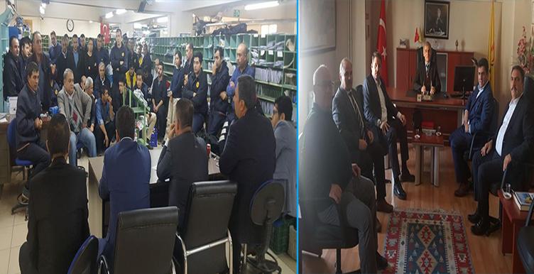 Başkanlarımız Manisa ve Uşak Teşkilatlarımızı Ziyaret Etti
