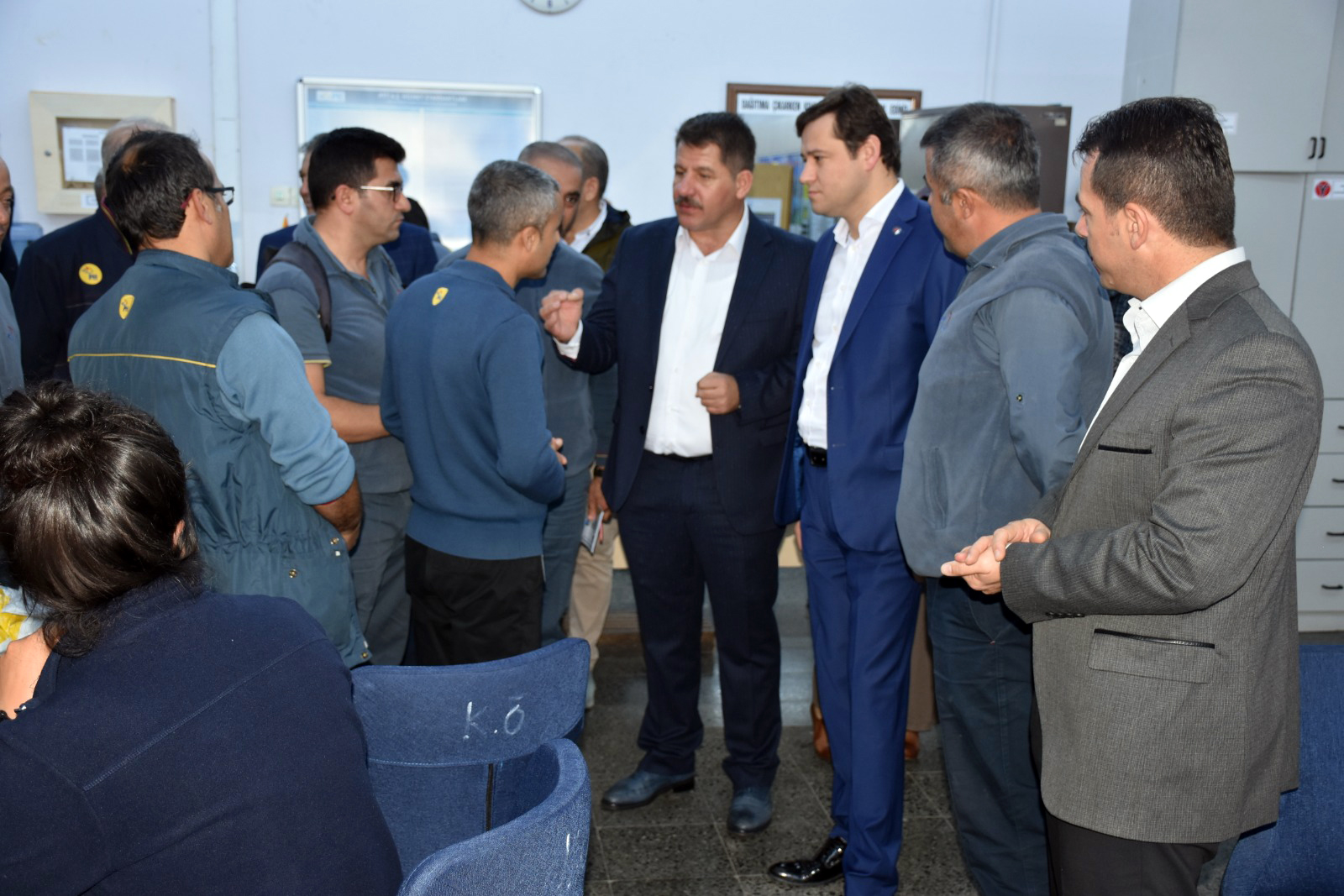 Başkanlarımız PTT Ankara Başmüdürlüğü ve Ankara Dağıtım Müdürlüklerini Ziyaret Ettiler