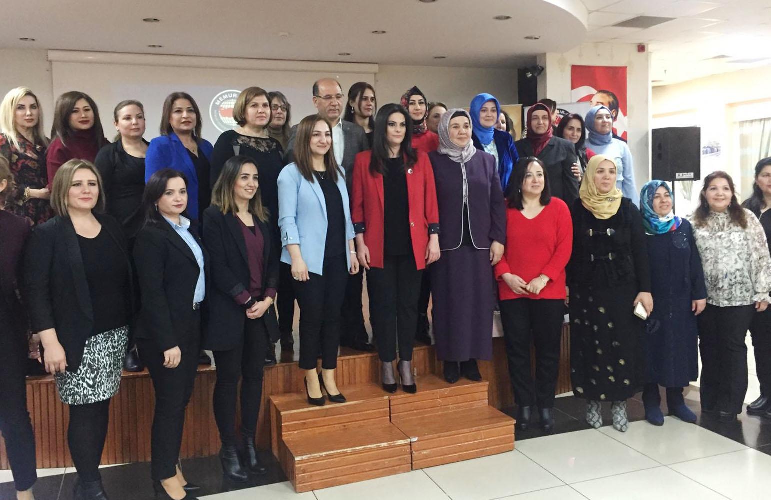 Birlik Haber-Sen Adana Şube'den Kadınlara Özel Kahvaltı Programı