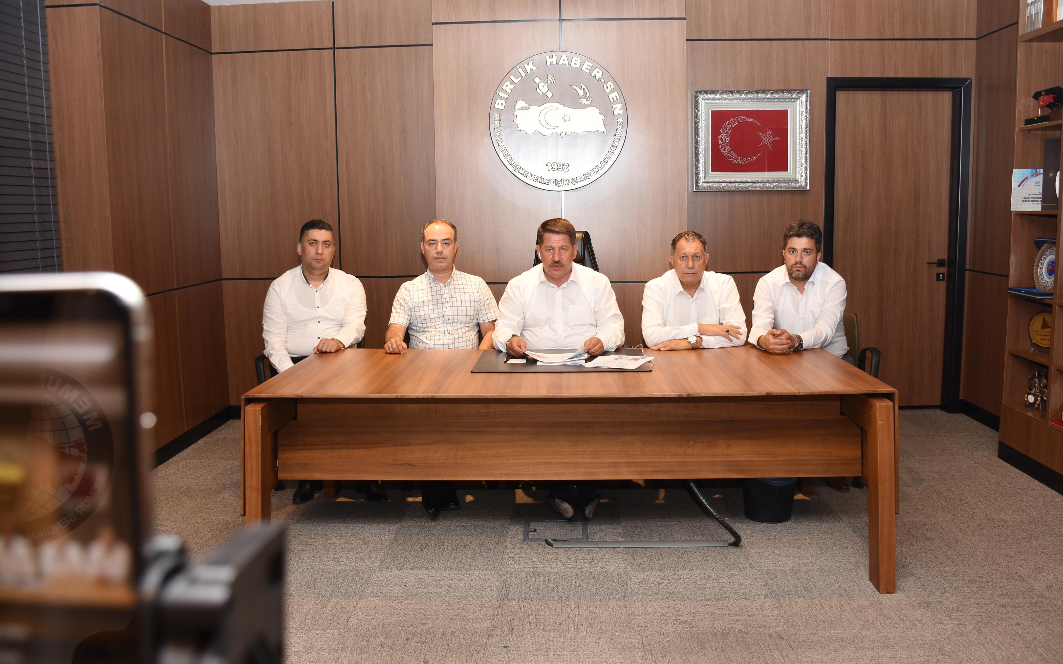 Birlik Haber-Sen Genel Başkanı Budak Toplu Sözleşme Taleplerini Aktardı