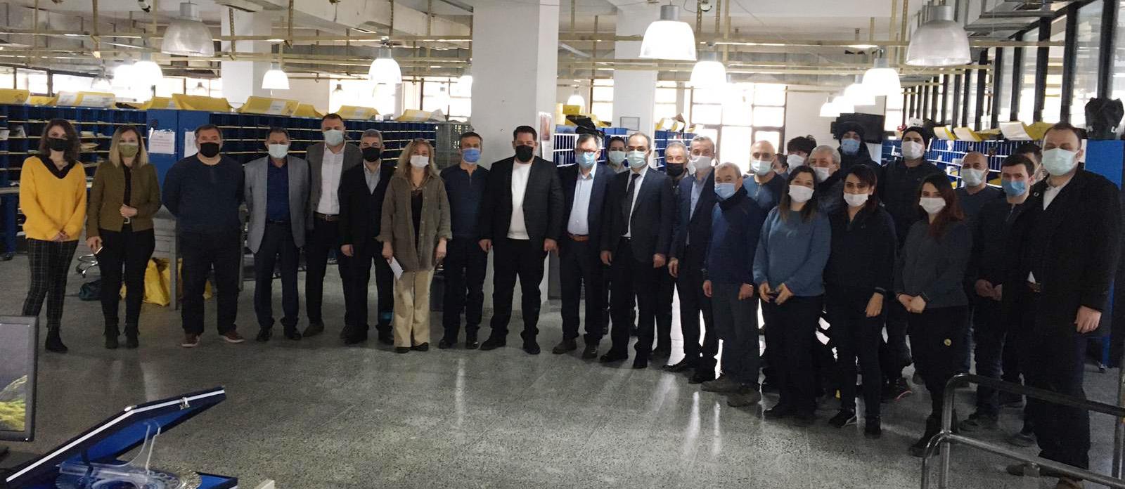 Birlik Haber-Sen Heyeti Eskişehir'i Ziyaret Etti