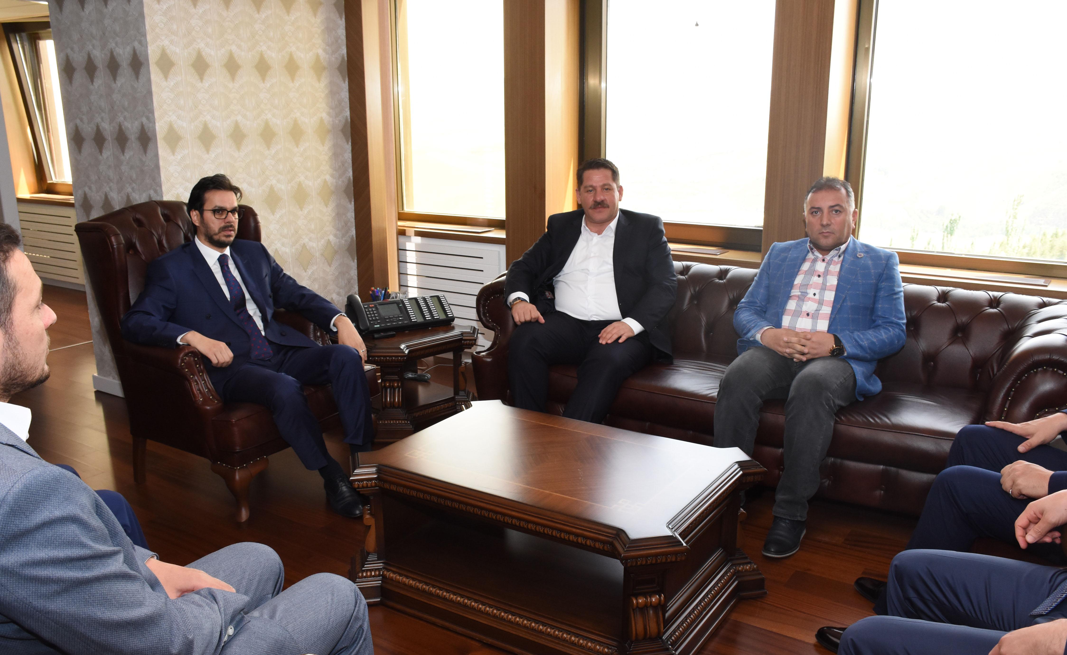 Birlik Haber-Sen Heyeti TRT Genel Müdürü İbrahim Eren'i Ziyaret Etti