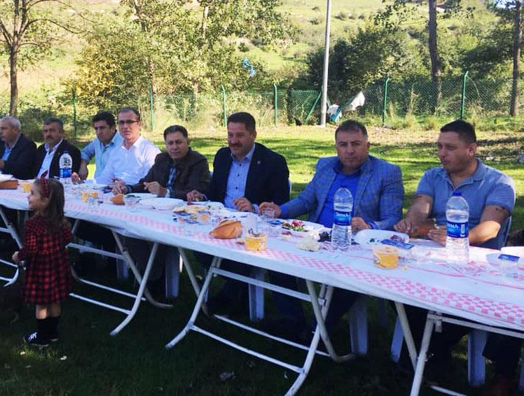 Birlik Haber-Sen Samsun Teşkilatı Piknikte Bir Araya Geldi