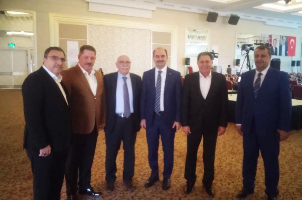 Birlik Haber-Sen Yönetimi Afyon'da Başmüdürler Toplantısına Katıldı