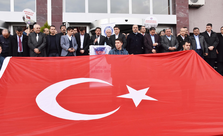 Birlik Haber-Sen'den Afrin' deki Mehmetçiğe Destek