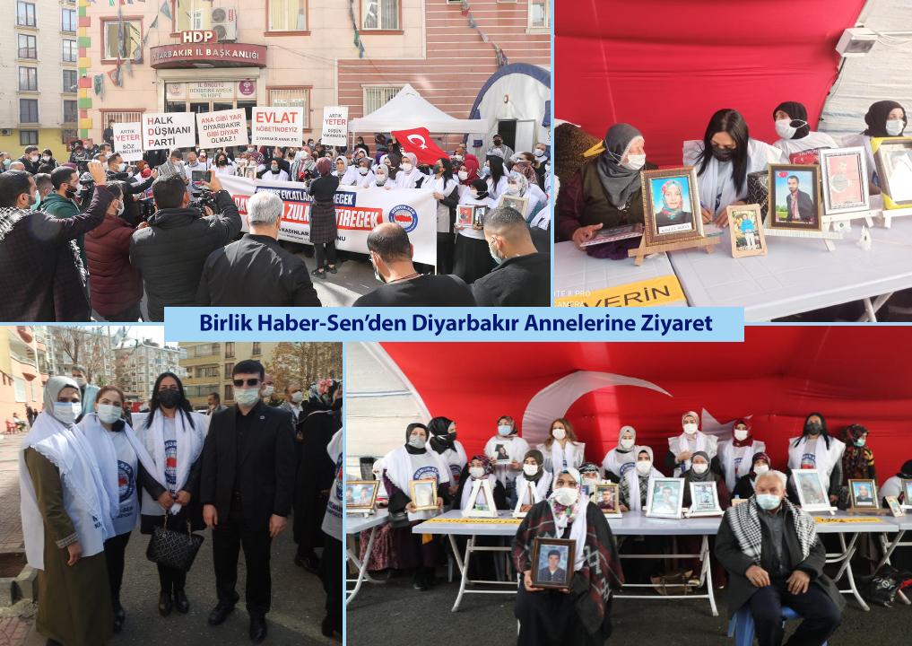 Birlik Haber-Sen'den Diyarbakır Annelerine Ziyaret