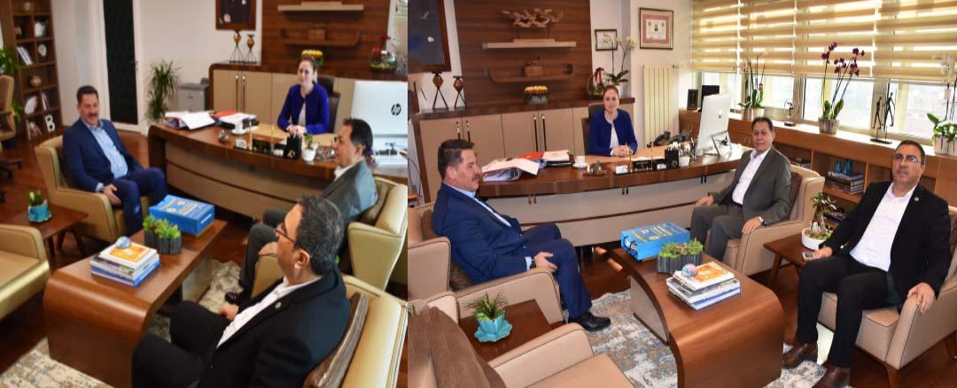 Birlik Haber-Sen'den Genel Müdür Yardımcısı Lale Seyhan Şair'e Hayırlı Olsun Ziyareti