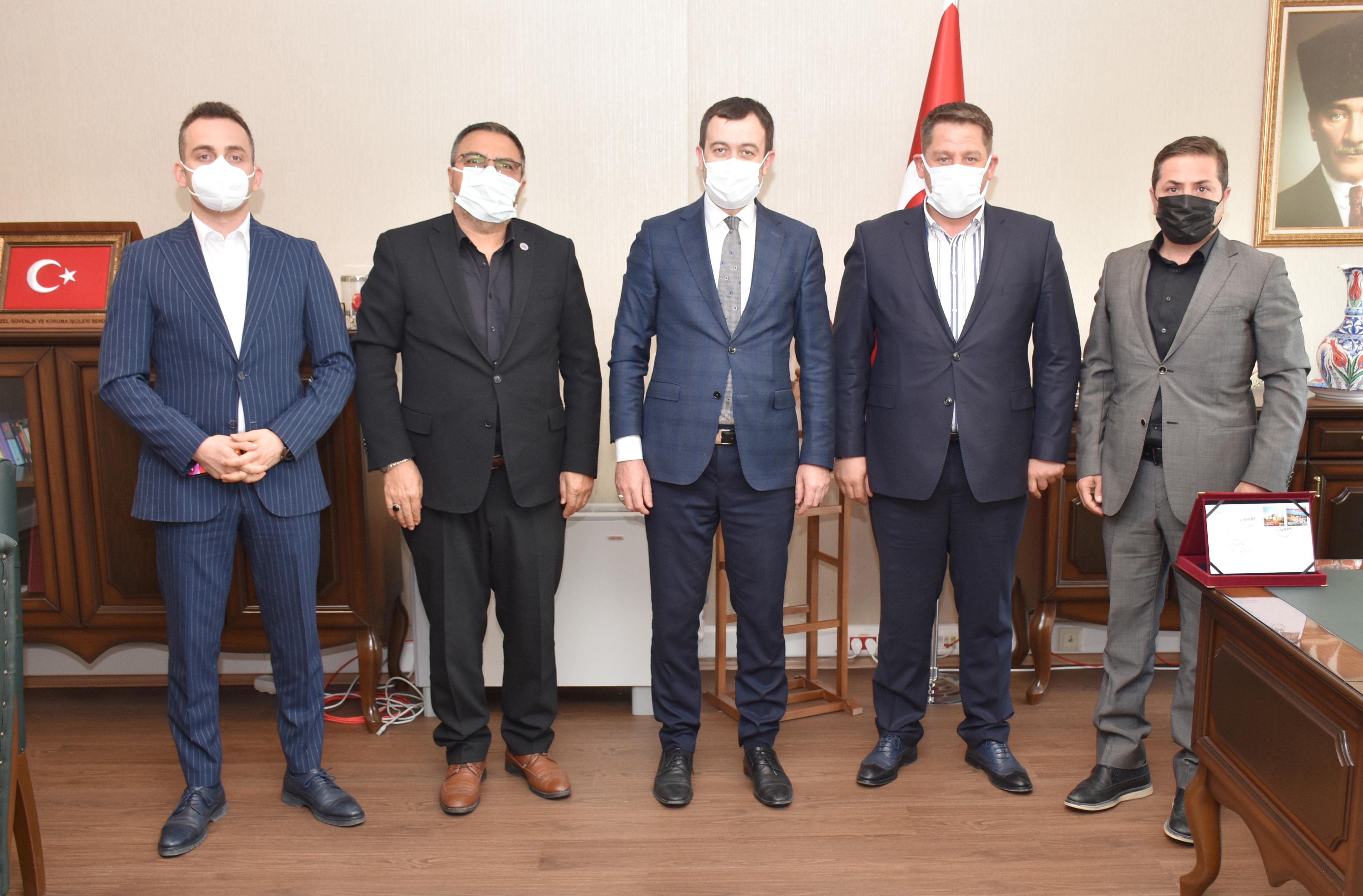 Birlik Haber-Sen'den RTÜK Başkan Yardımcısı Özdemir'e Hayırlı Olsun Ziyareti