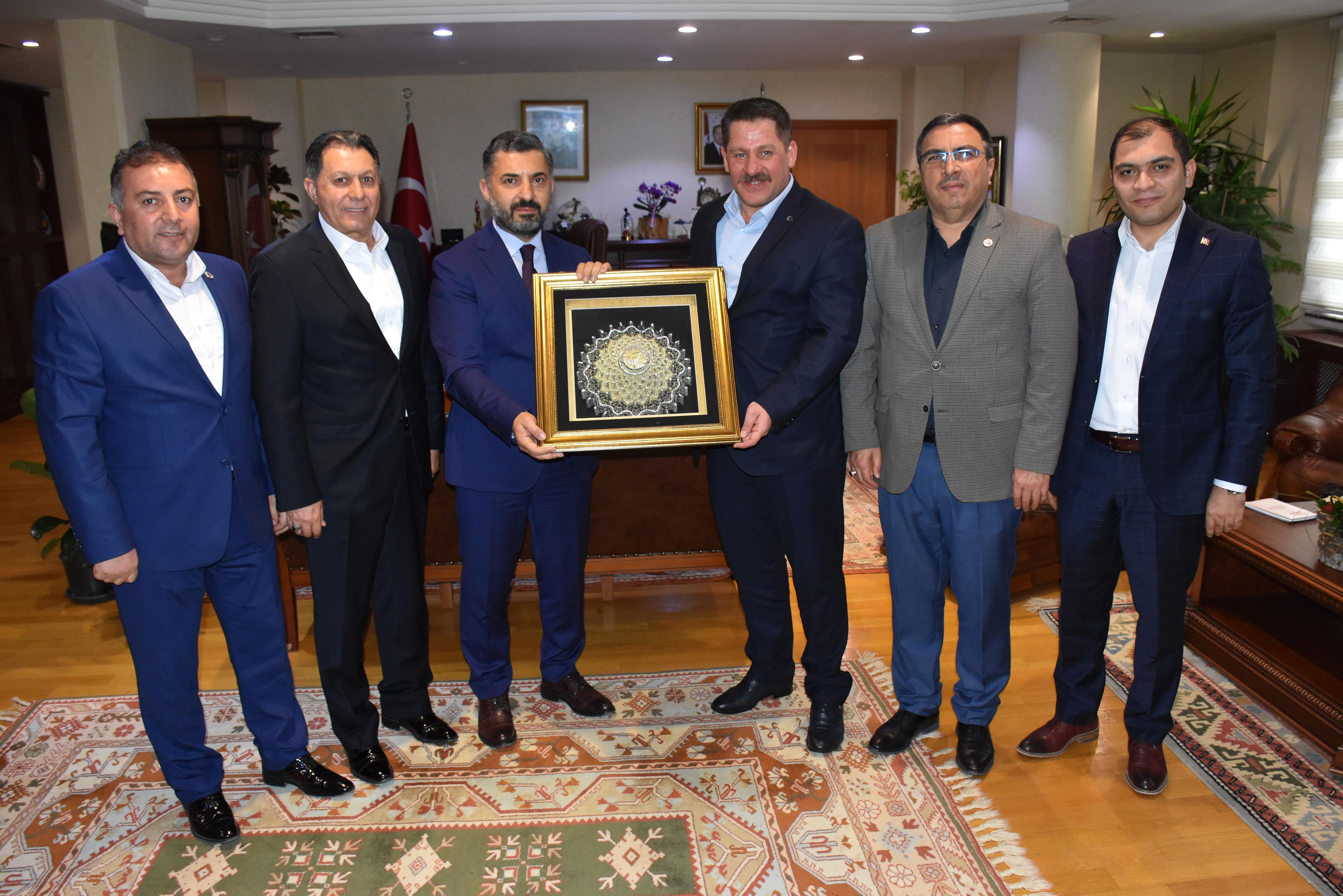 Birlik Haber-Sen'den RTÜK Üst Kurul Başkanı Şahin'e Hayırlı Olsun Ziyareti