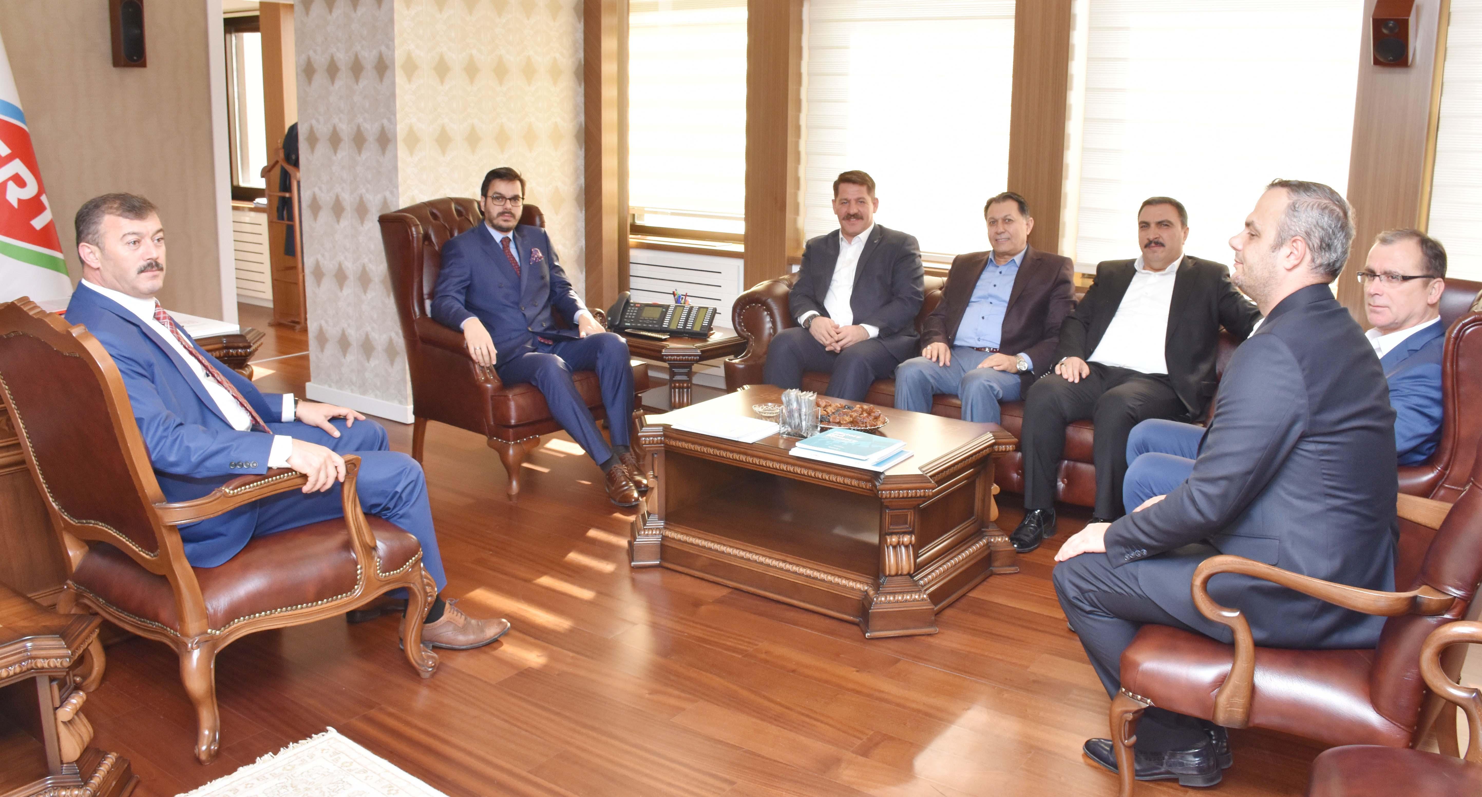 Birlik Haber-Sen'den TRT Genel Müdürü Eren' e Hayırlı Olsun Ziyareti