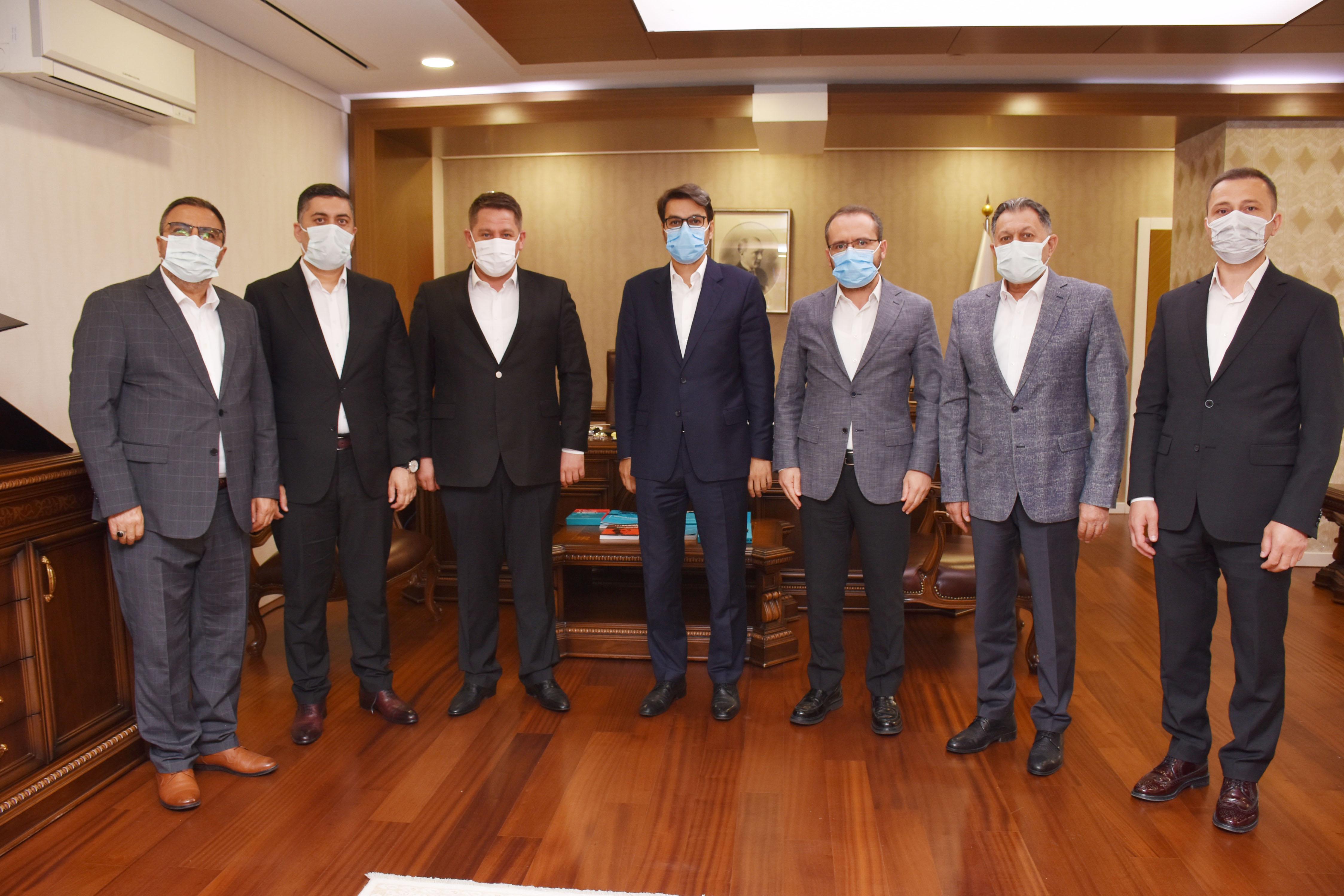 Birlik Haber-Sen'den TRT Genel Müdürü Eren'e Ziyaret