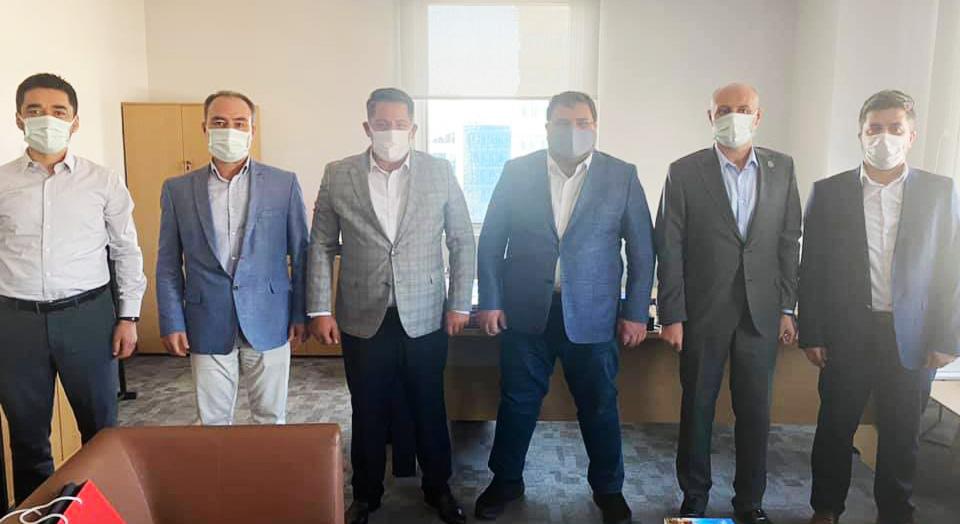 Birlik Haber-Sen'den Yönetim Hizmetleri Dairesi Başkanı Öztürk'e Ziyaret