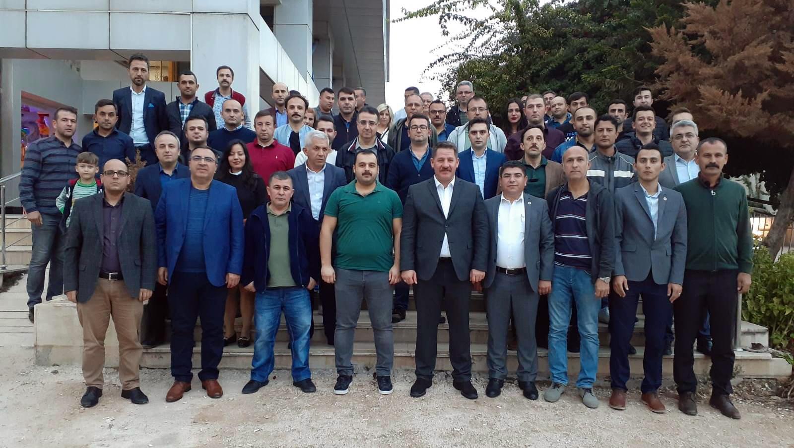 Budak ve Burgaç Antalya'da PTT A.Ş. Çalışanlarıyla Bir Araya Geldiler