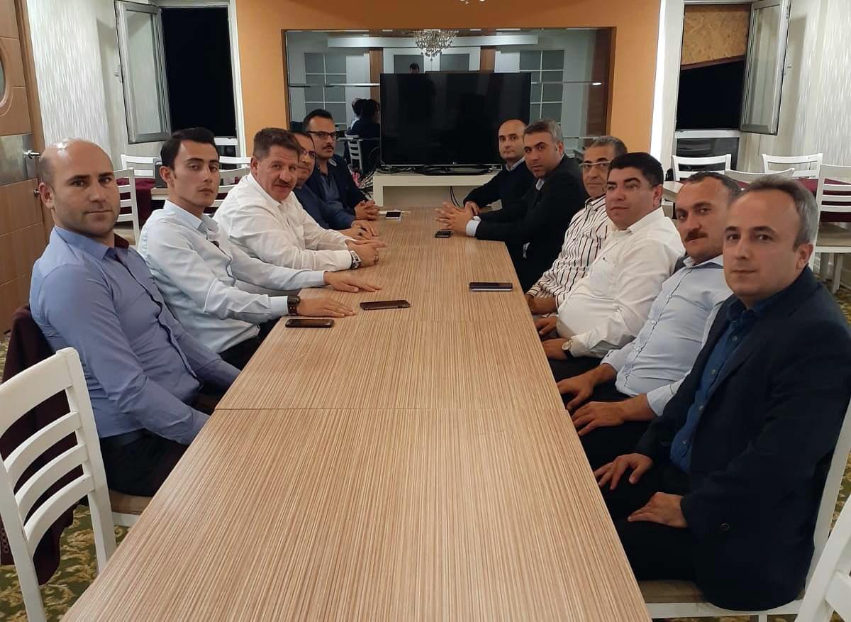 Budak ve Burgaç PTT A.Ş. Antalya Başmüdürü Yazıcıoğlu ile Bir Araya Geldiler