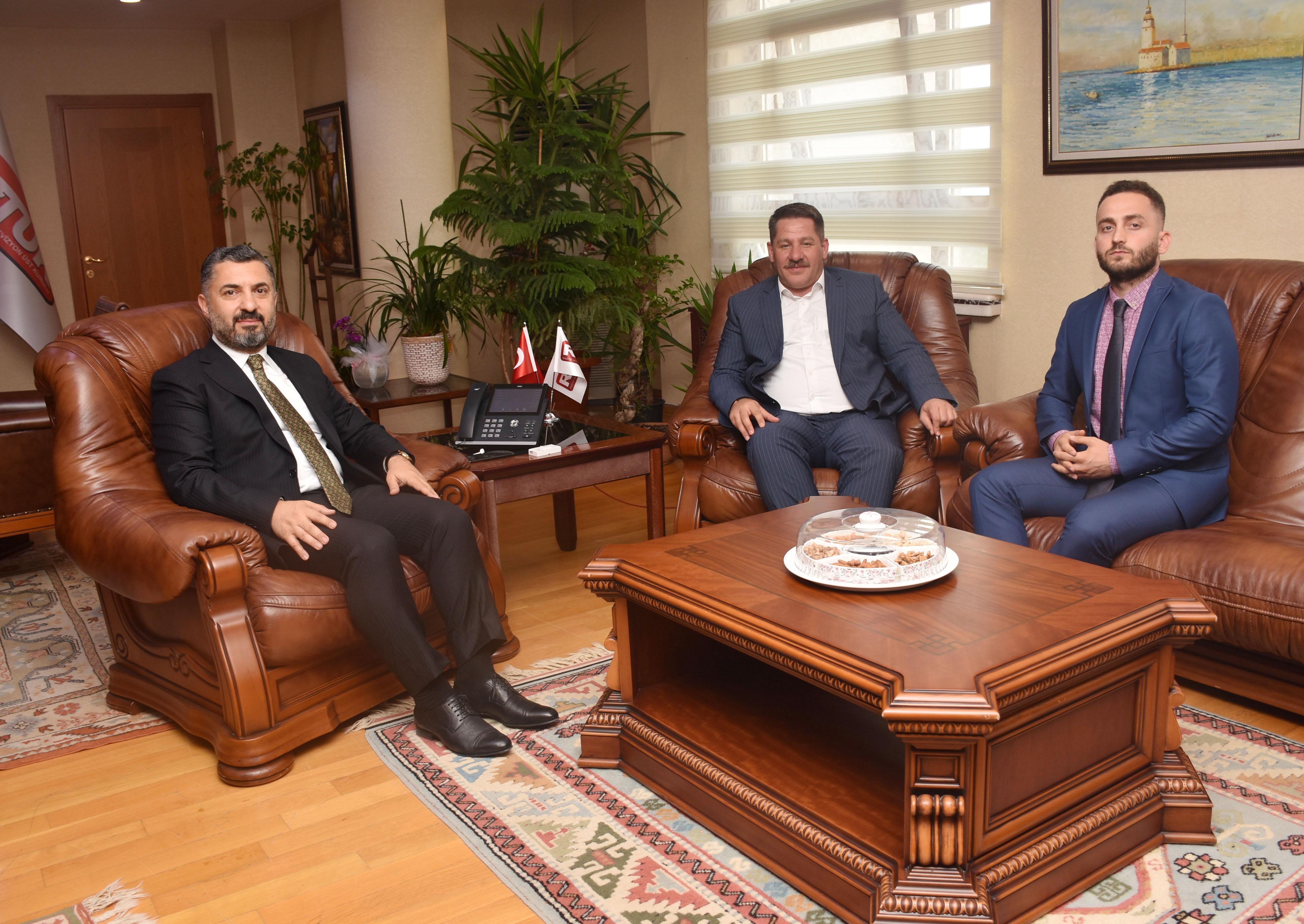 Budak'tan RTÜK Üst Kurul Başkanı Şahin'e Ziyaret