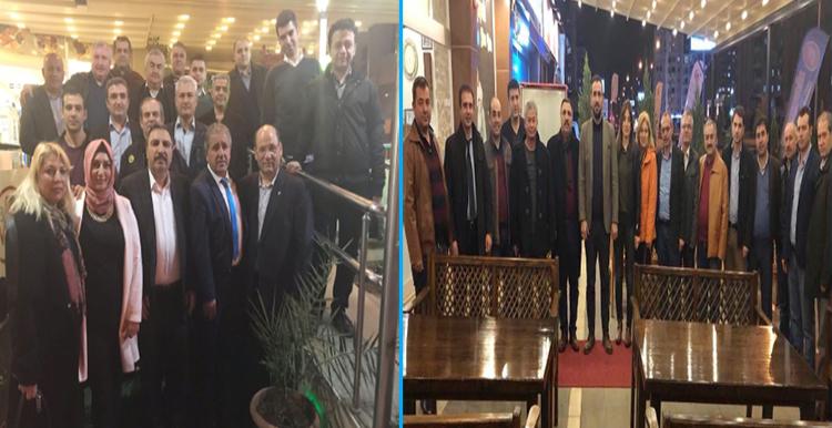 Burgaç, Adana ve Mersin'de Hizmet Kolumuzdaki İşyeri Temsilcilerimizle Biraraya Geldi