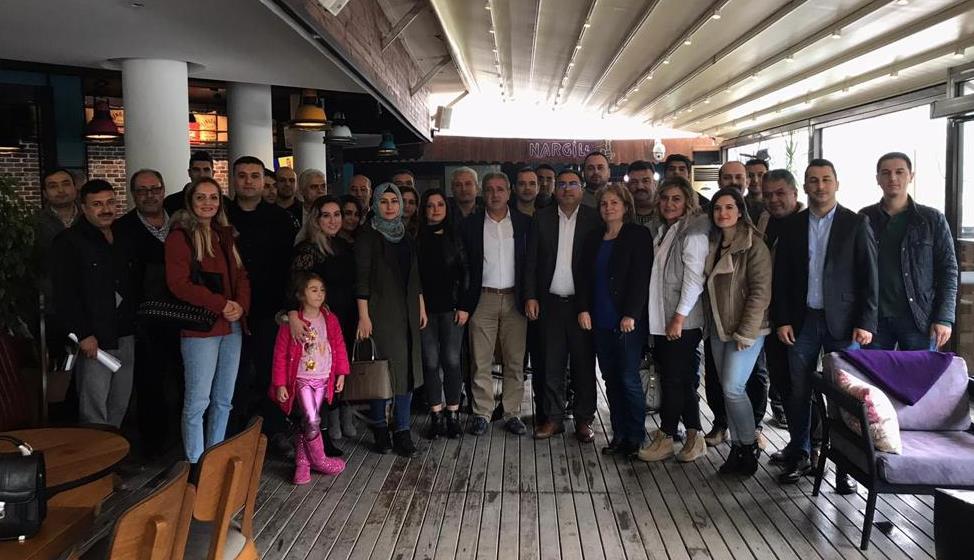 Burgaç, Adana'da İşyeri Temsilcileriyle Bir Araya Geldi
