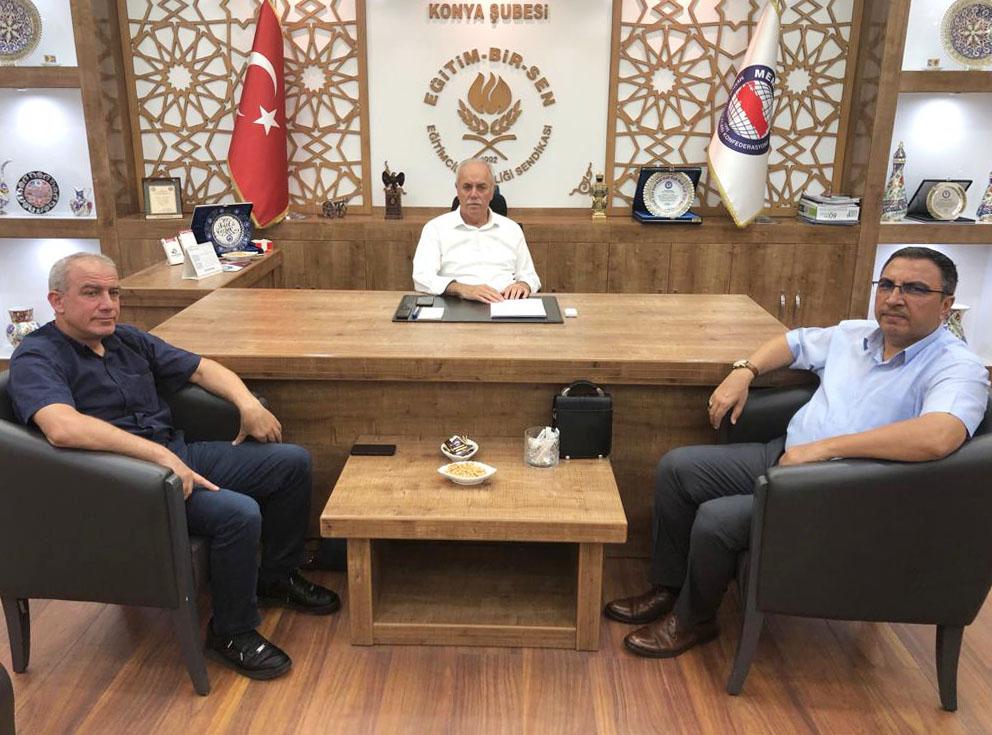 Burgaç, Konya Teşkilatını Ziyaret Etti
