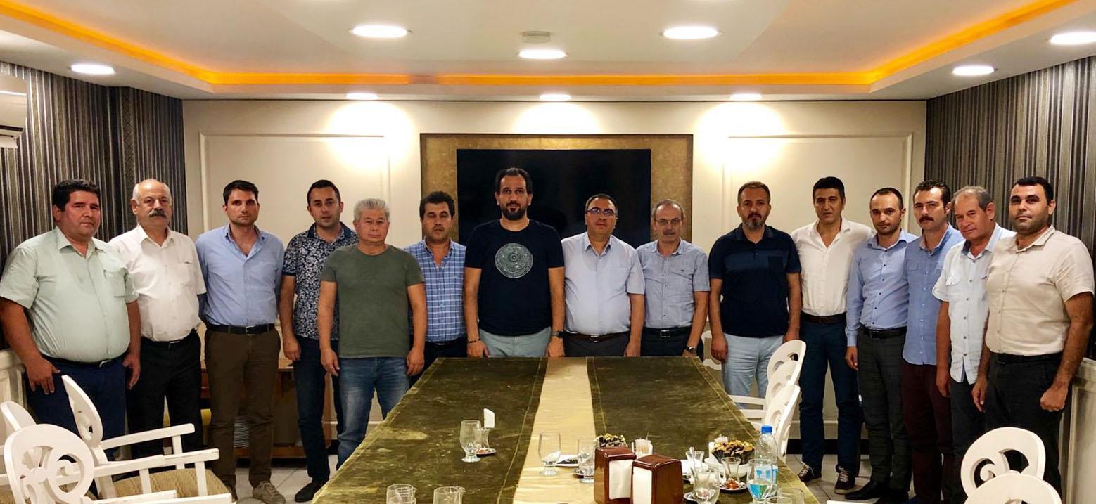 Burgaç, Mersin'de İşyeri Temsilcileriyle Buluştu