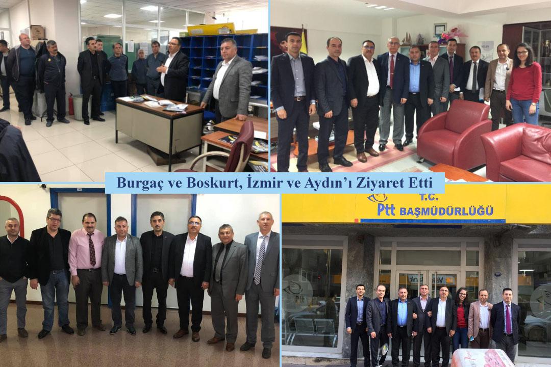 Burgaç ve Boskurt, İzmir ve Aydın'ı Ziyaret Etti