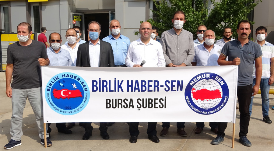 Bursa Şubesi Personele Yapılan Mobbinge Sessiz Kalmadı