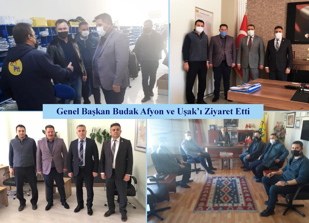 Genel Başkan Budak, Afyon ve Uşak'ı Ziyaret Etti