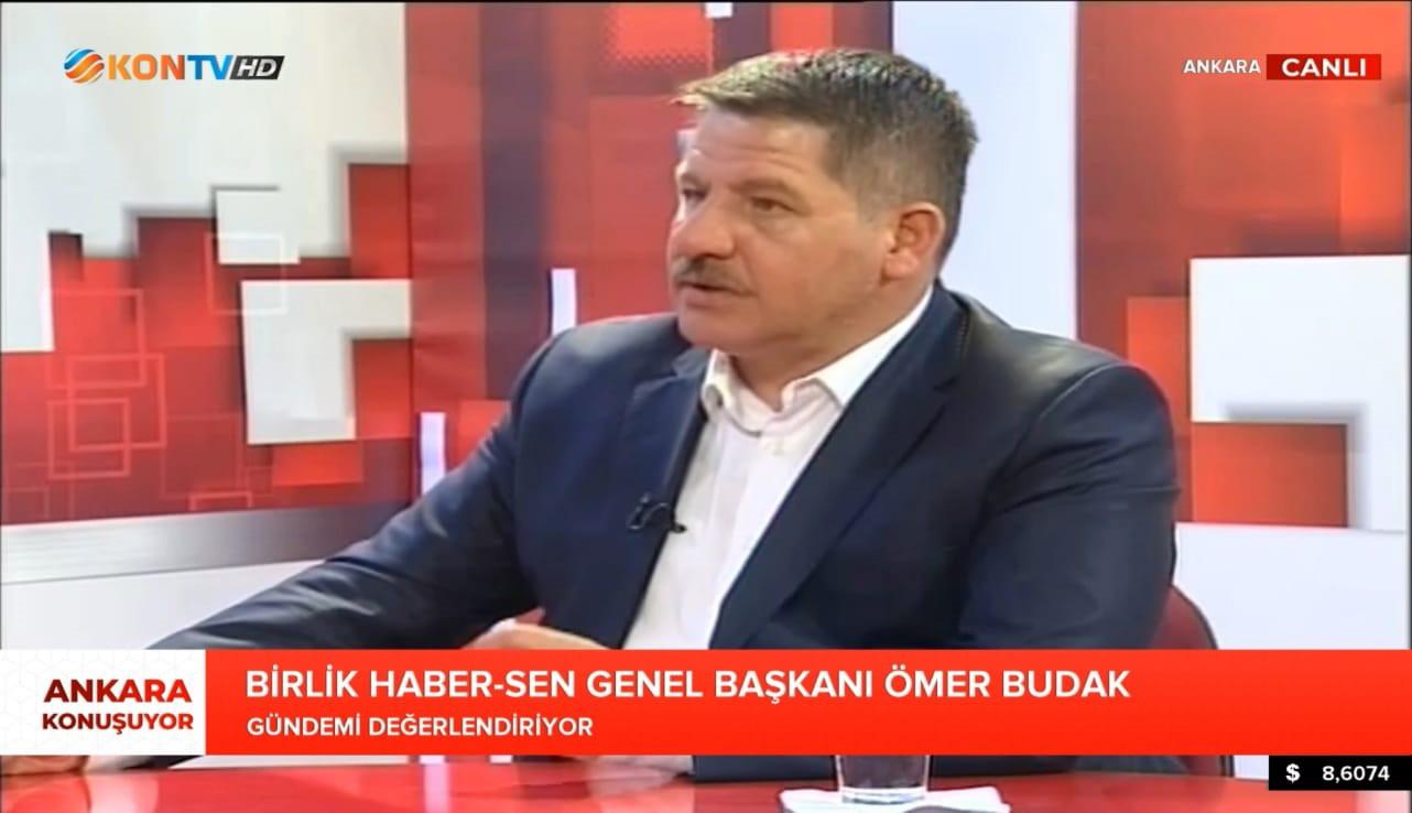 Genel Başkan Budak KON TV'ye Konuk Oldu