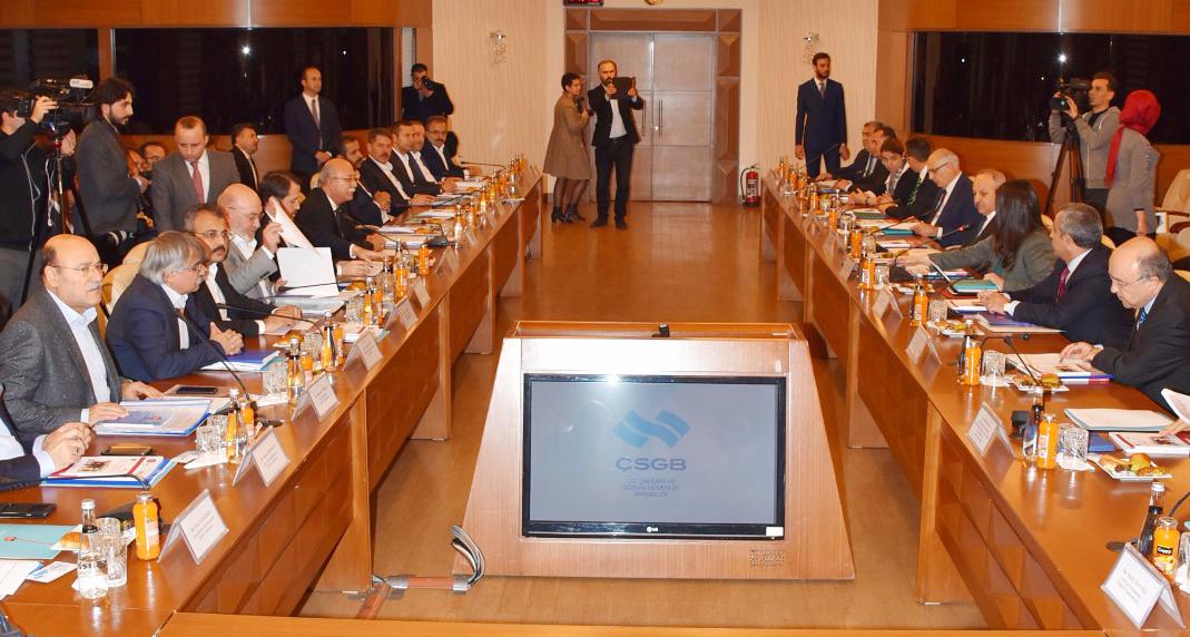 Genel Başkan Budak KPDK Taleplerimizi, Bakan Sarıeroğlu' na İletti