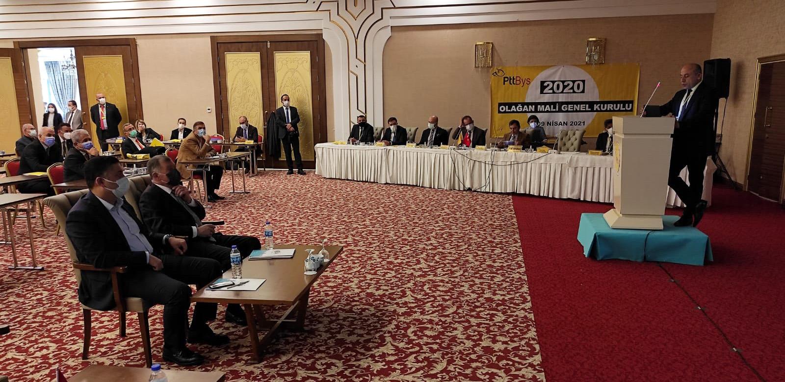 Genel Başkan Yardımcısı Akpınar BYS'nın Olağan Mali Genel Kurul Toplantısı'na Katıldı