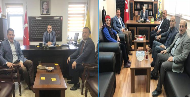 Genel Başkanımız Budak, Kırıkkale ve Kırşehir Teşkilatlarımızı Ziyaret Etti