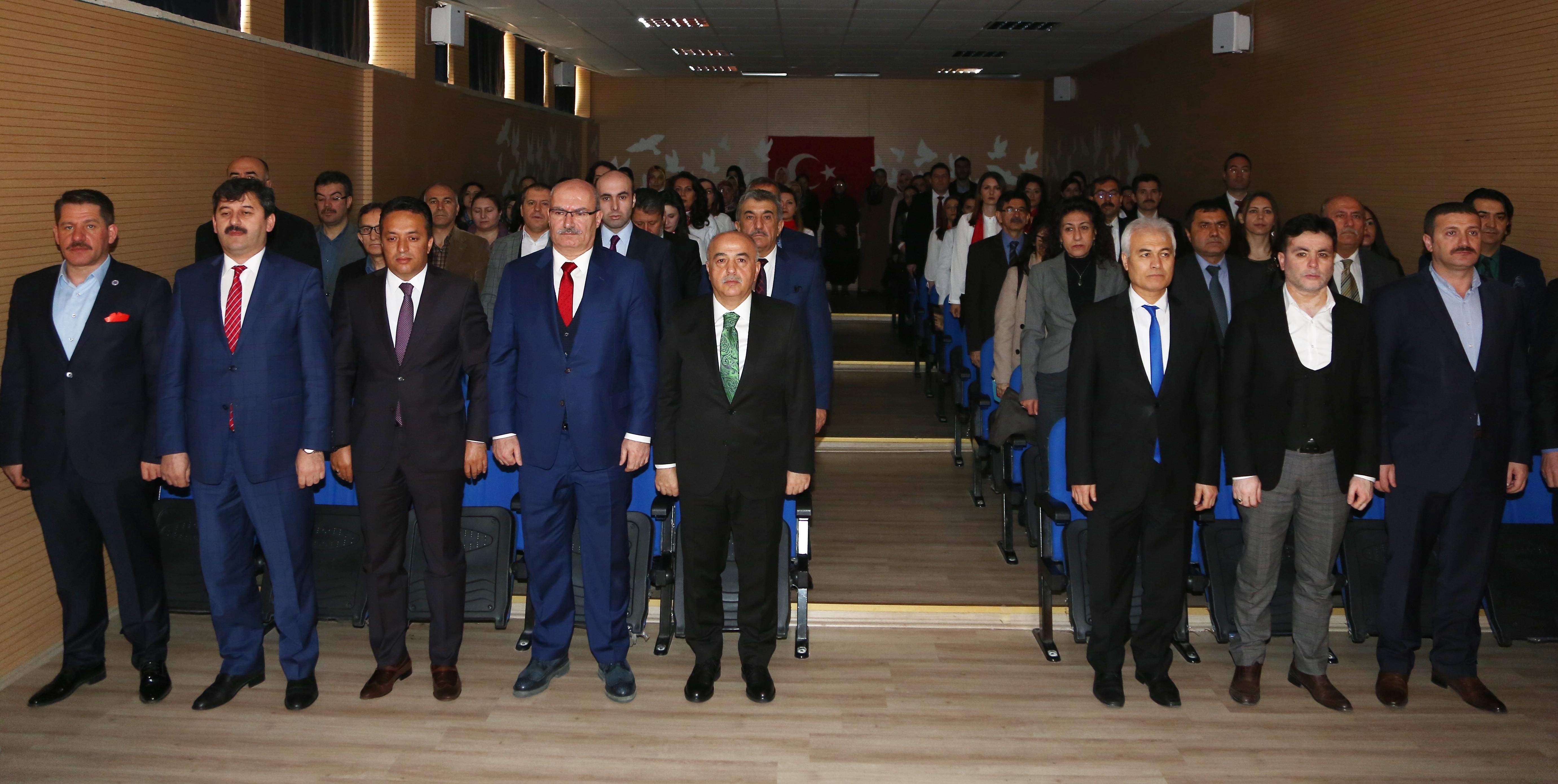 Genel Başkanımız Budak, Şehit Ömer Halisdemir'i Anma Programı'na katıldı