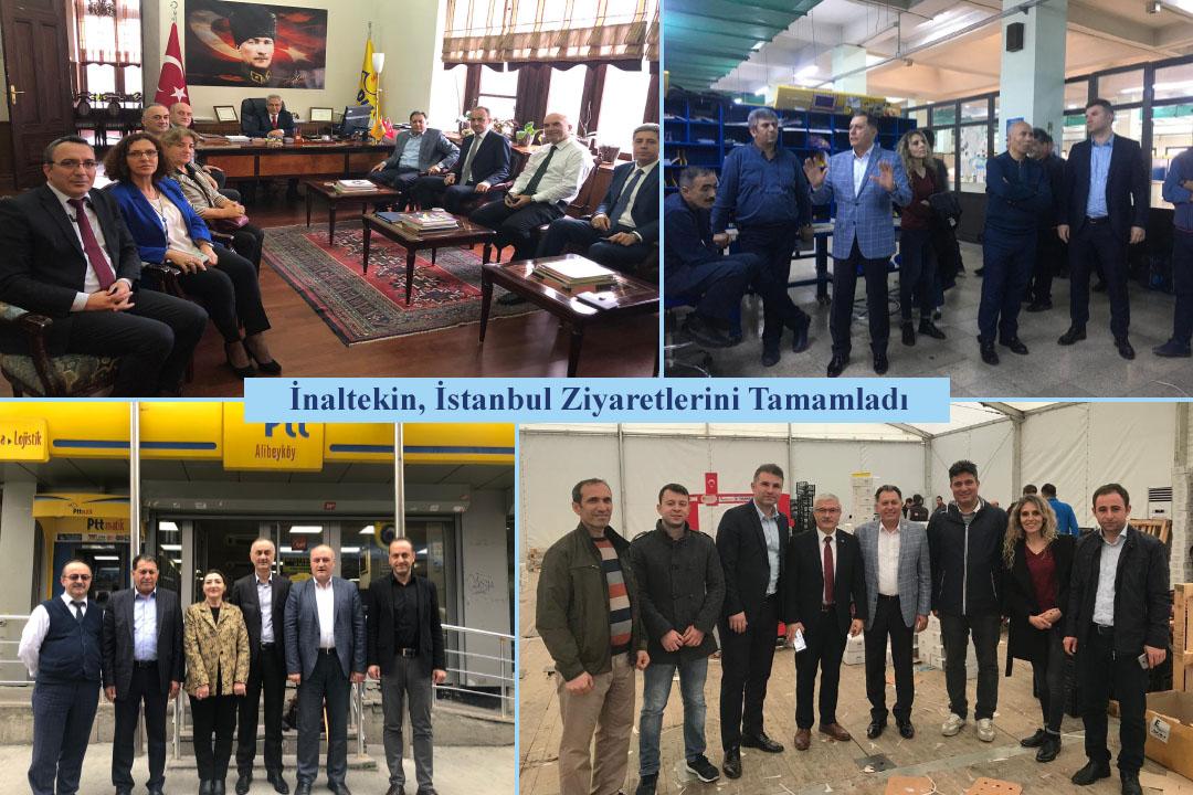 İnaltekin, İstanbul Ziyaretlerini Tamamladı